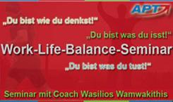 Work-Life-Balance-Workshop 3 Tage